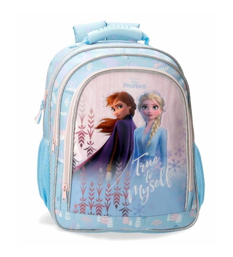 Comprar Frozen Sac à dos congelé fidèle à moi-même bleu -29x38x16cm