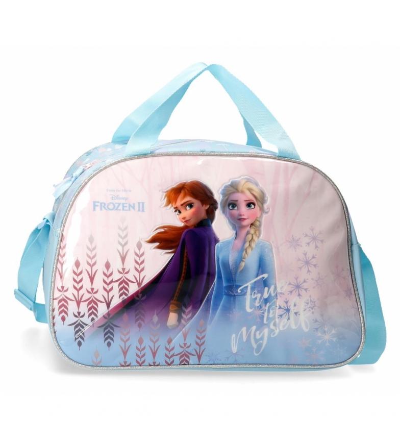 Comprar Frozen Travel bag Frozen True to Myself blue -40x28x22cm