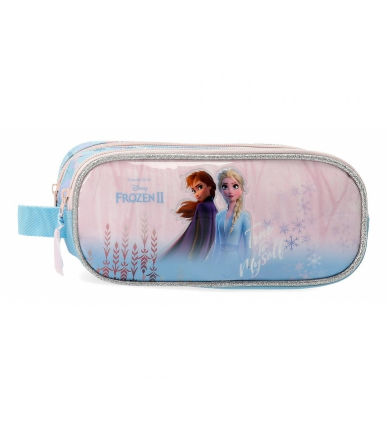 Comprar Frozen Case Frozen True to Myself with two compartments blue -23x9x7cm