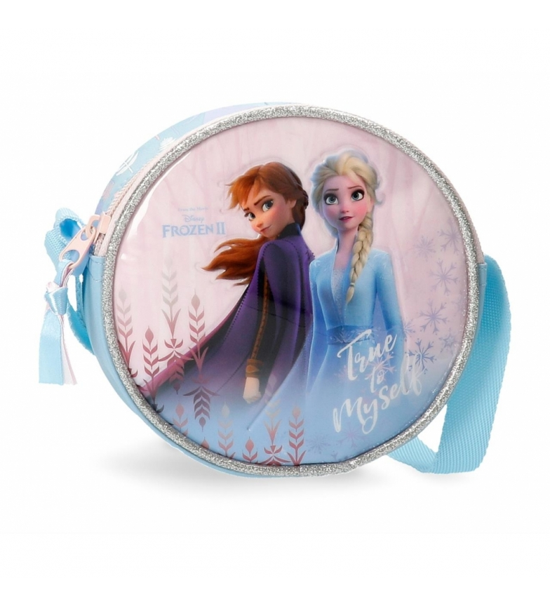 Comprar Frozen Frozen True to Myself shoulder strap round blue -14x14x5cm