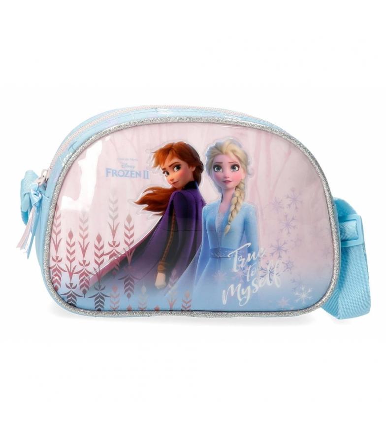 Comprar Frozen Bandolera Frozen True to Myself azul -22x15x5cm-