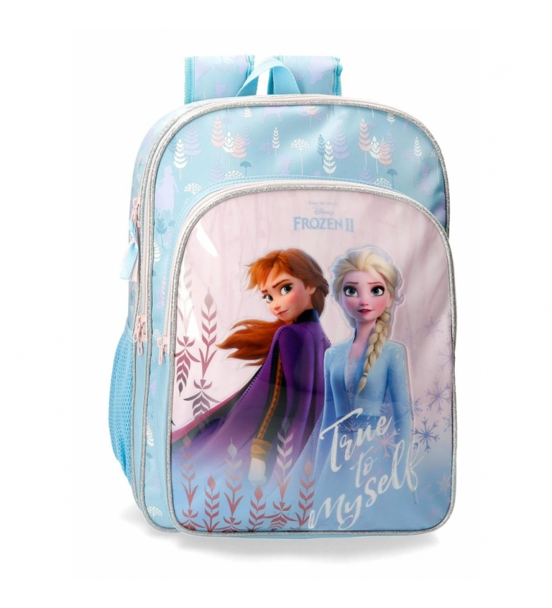 Comprar Frozen School Backpack Frozen True to Myself adaptable to blue trolley -31x42x13cm