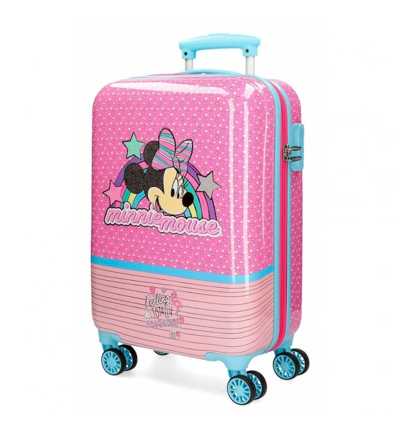 Comprar Minnie Custodia rigida per cabina Minnie Pink Vibes rosa -34x55x20cm-