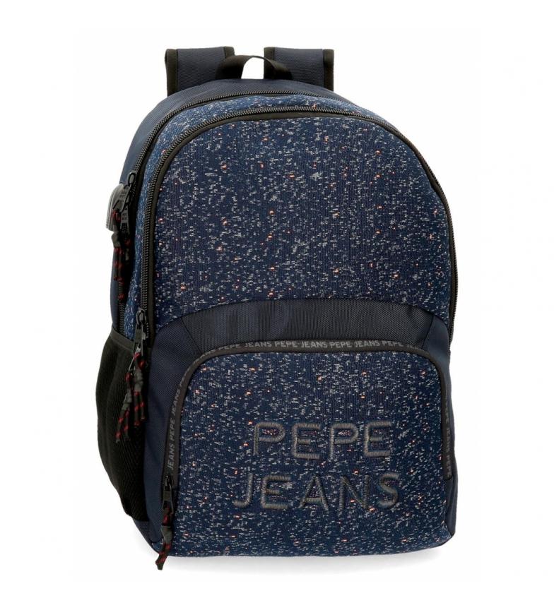 Comprar Pepe Jeans Zaino Pepe Jeans Hike per due scomparti blu -33x46x17cm-