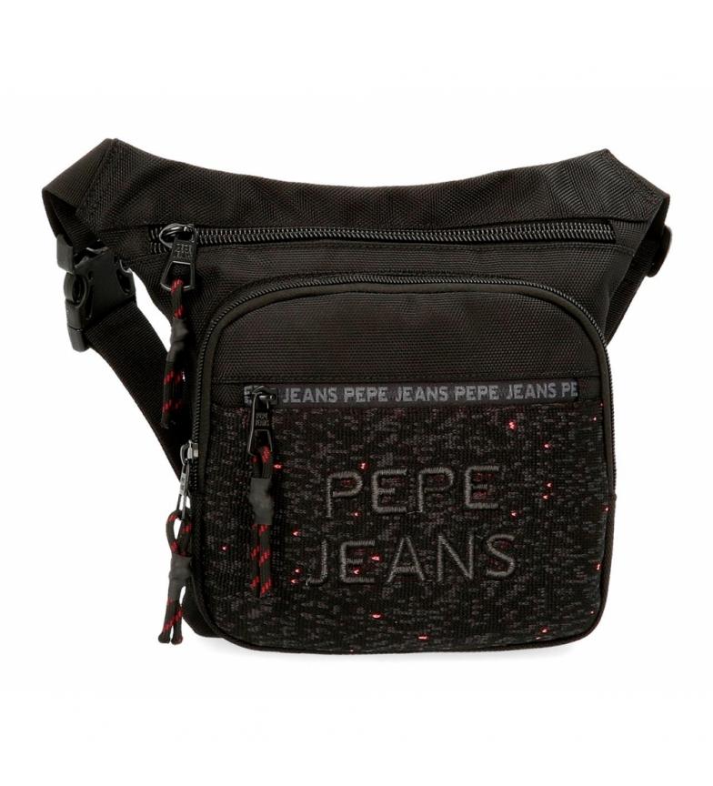 Comprar Pepe Jeans Bum saco Pepe Jeans Hike preto -31.5x24x1.5cm