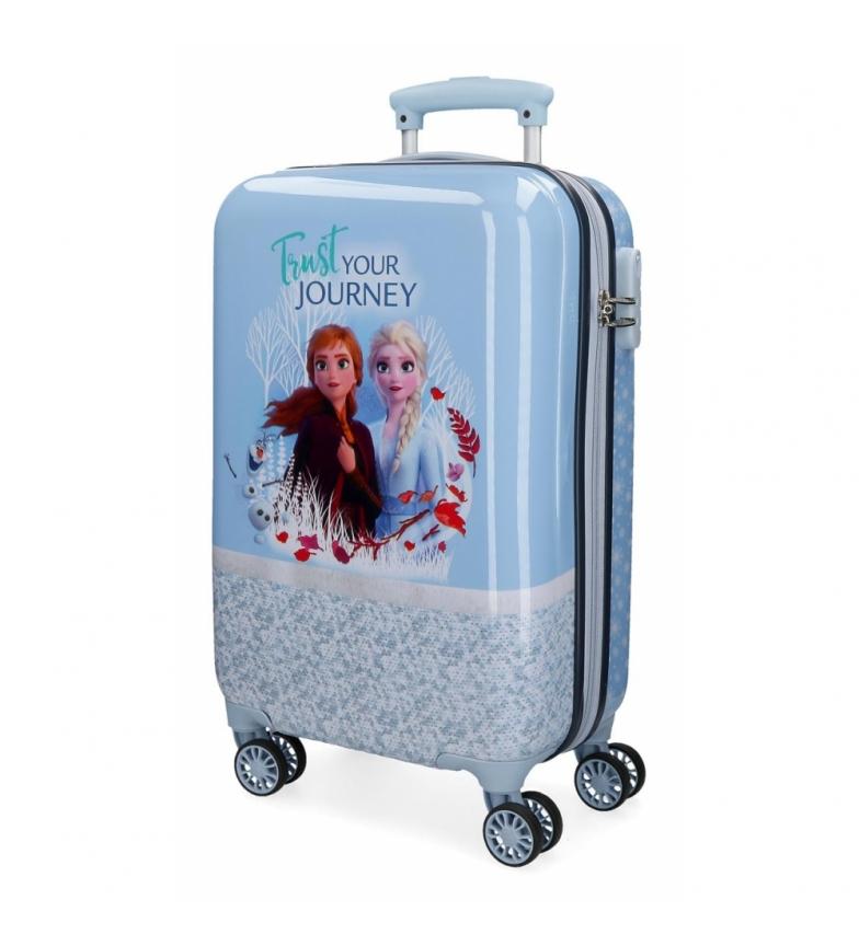 Comprar Frozen Maleta de cabina Frozen Spirits of Nature rígida azul -34x55x20cm-