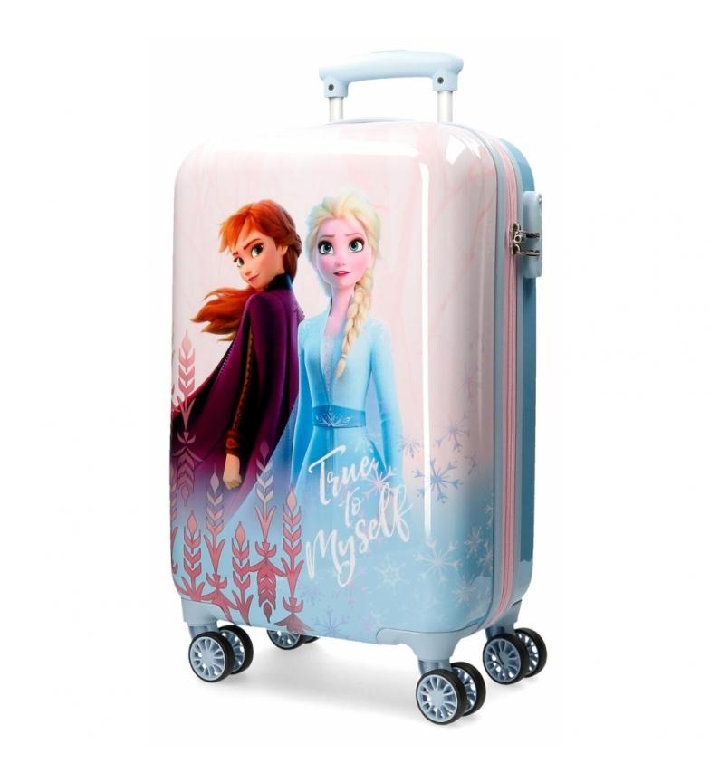 Comprar Frozen Valigia rigida blu Frozen True to Myself -34x55x20cm-