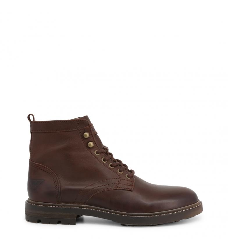 Comprar Docksteps Bottes en cuir LYNNN_2362_TMORO marron