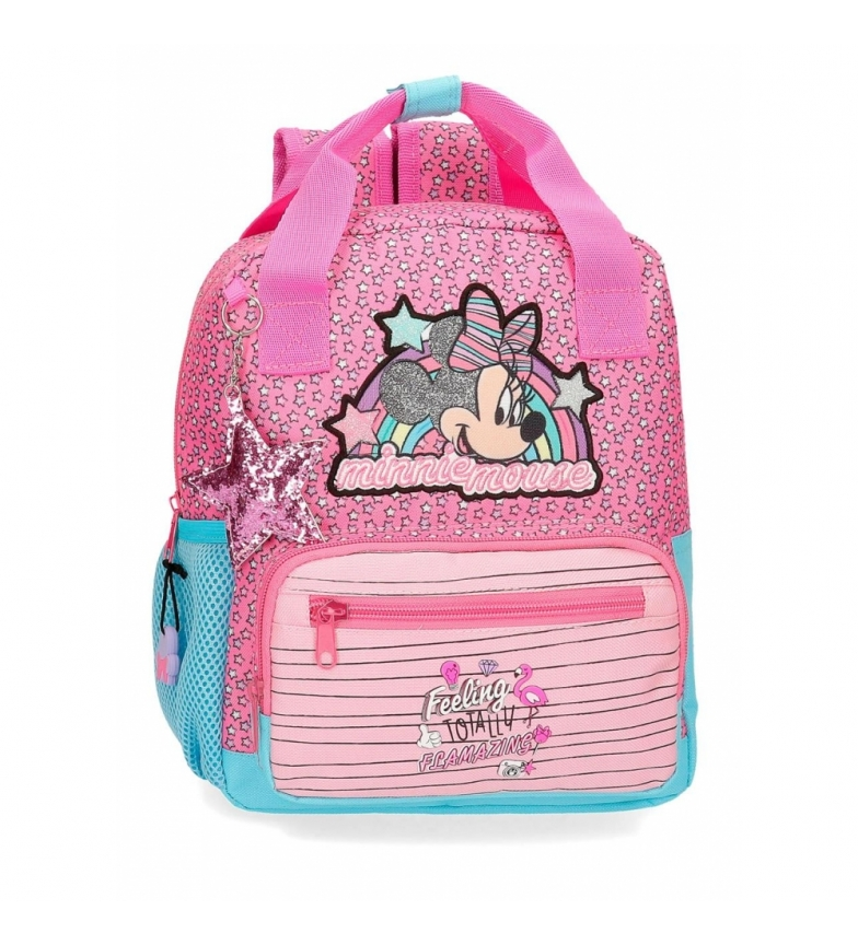Comprar Minnie Minnie Pink Vibes Backpack Pink Adaptable Preschool -23x28x10cm