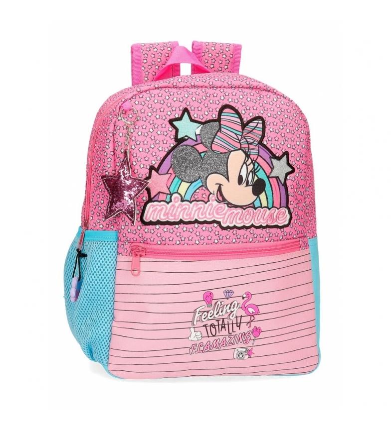 Comprar Minnie Mochila Minnie Pink Vibes rosa -25x32x12x12cm