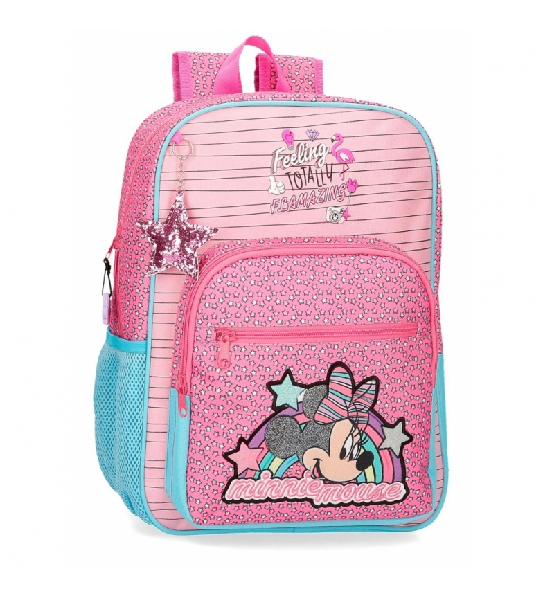 Comprar Minnie Zaino Pink Minnie Pink Vibes -30x38x12cm-