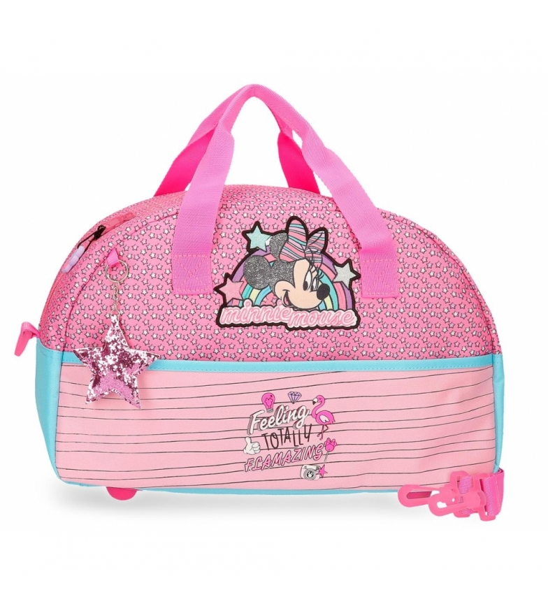 Comprar Minnie Bolsa de viaje Minnie Pink Vibes rosa -40x24x18cm-