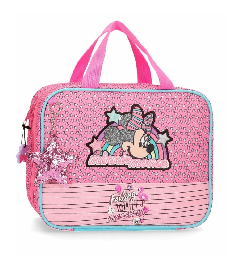 Comprar Minnie Saco Minnie Pink Vibes adaptável ao carrinho rosa -25x20x11x11cm