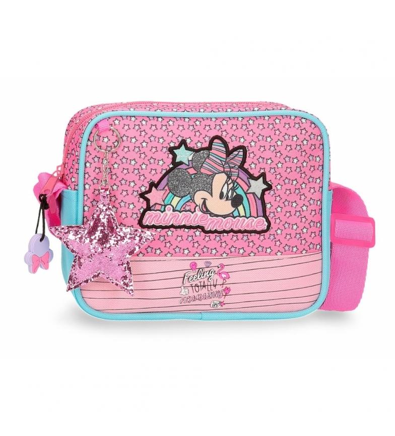 Comprar Minnie Minnie Pink Vibes small pink shoulder bag -18x15x5cm
