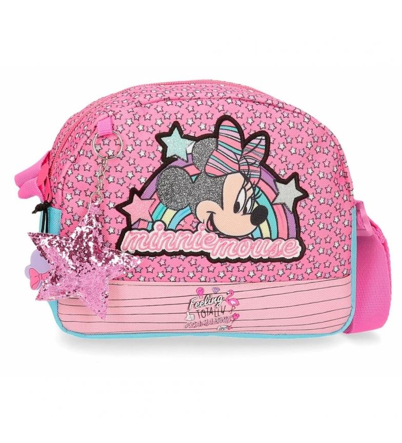 Comprar Minnie Bandolera Minnie Pink Vibes rosa -20.5x16x6cm-
