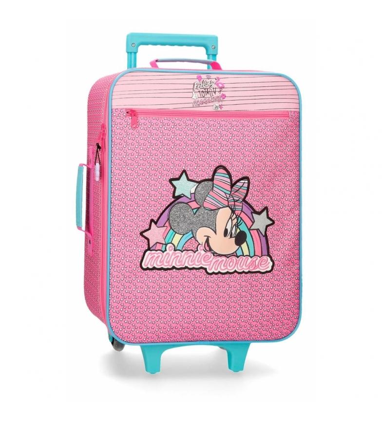 Comprar Minnie Maleta de cabina Minnie Pink Vibes  rosa-35x50x18cm-