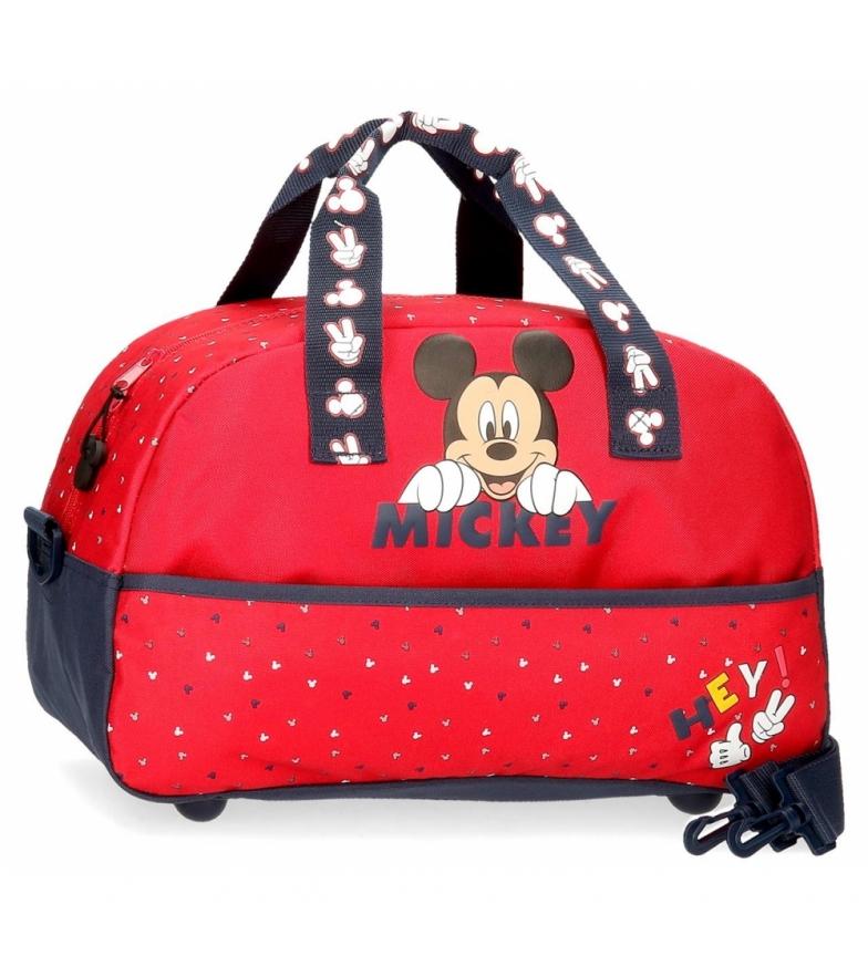 Comprar Mickey Happy Mickey sac de voyage rouge -40x24x18cm