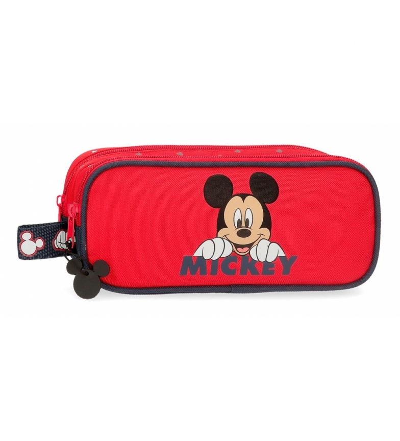 Comprar Mickey Happy Mickey Case deux compartiments rouge -23x9x7x7cm