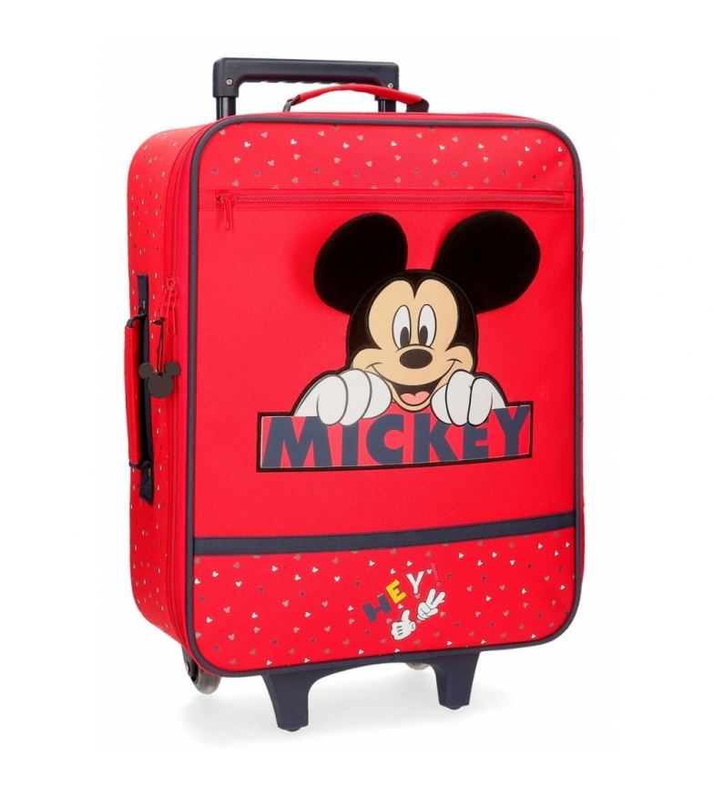 Comprar Mickey Cabin case Happy Mickey red 35x50x18cm