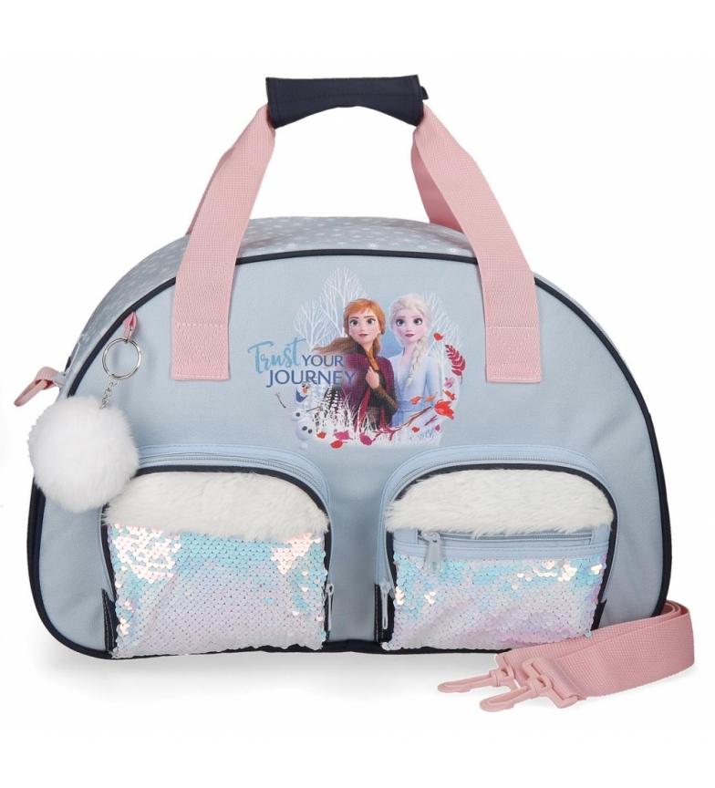Comprar Frozen Bolsa de viaje  Frozen Trust your journey azul -45x28x22cm-