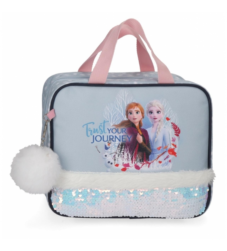 Comprar Frozen Toilet bag trust your journey adaptable to trolley -25x20x11cm