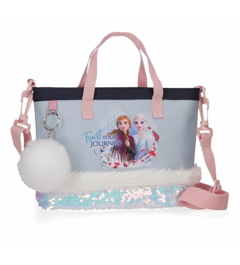 Comprar Frozen Faites confiance à votre sac de voyage bleu -23x18x6cm