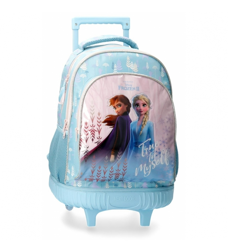 Comprar Frozen Mochila con ruedas Frozen True to Myself azul -32x43x21cm-