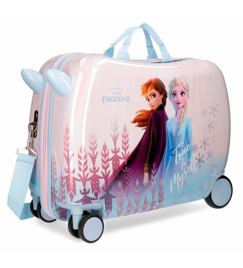 Comprar Frozen Valise pour enfants Gelée Fidèle à moi-même roues multidirectionnelles -38x50x20x20cm