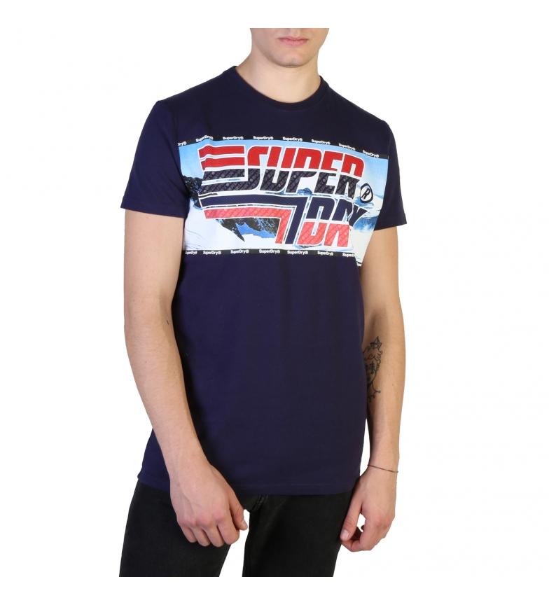 Comprar Superdry M1000005A camicie blu