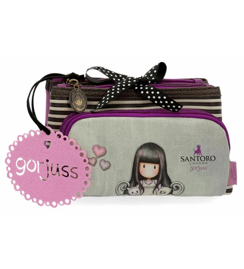 Comprar Gorjuss Saco higiénico pequeno Gorjuss três compartimentos Tall Tails multicolor -20,5x10,5x8,5cm