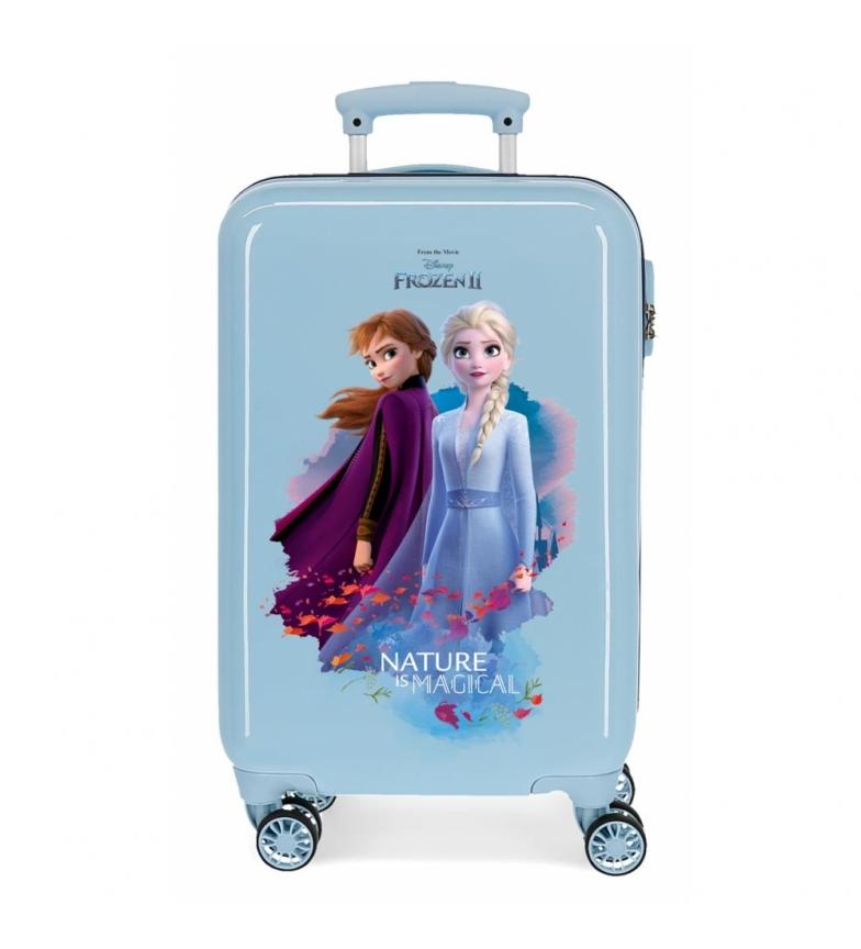 Comprar Frozen Etui cabine Nature est magique rigide rigide 32L bleu -34x55x20cm