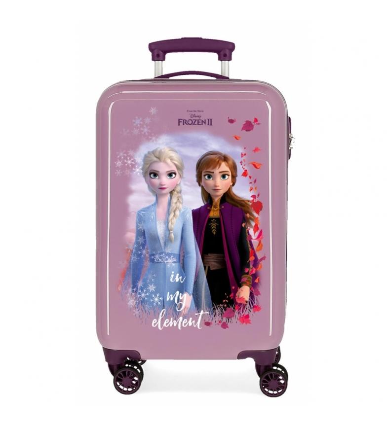 Comprar Frozen Maleta de cabina Nature is magical rígida 32L lila -34x55x20cm-