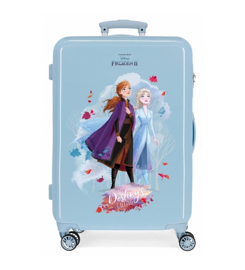 Comprar Frozen Valise moyenne Destiny appelle rigide 61L bleu -46x65x25cm