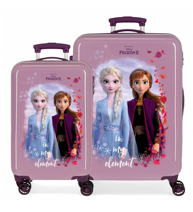 Comprar Frozen Set da viaggio Nature is magic rigido 32L / 61L lilla -34x55x20cm / 46x65x25cm-