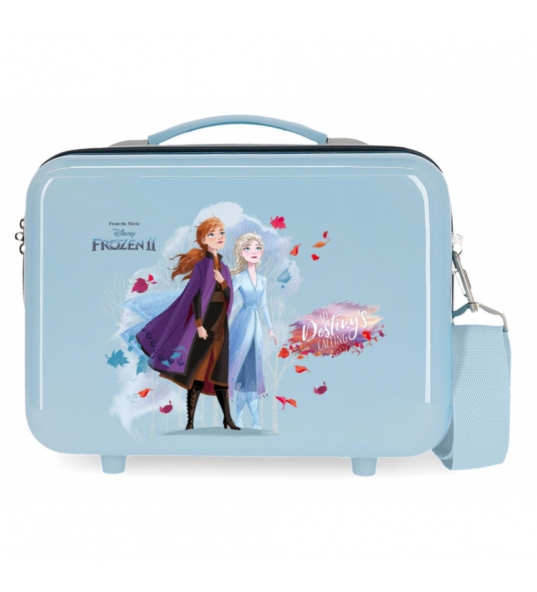 Comprar Frozen ABS Toilet Bag Destiny is calling adaptable blue -29x21x15cm