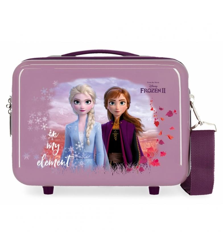 Comprar Frozen ABS Nature bag is magical adaptable lilac -29x21x15cm