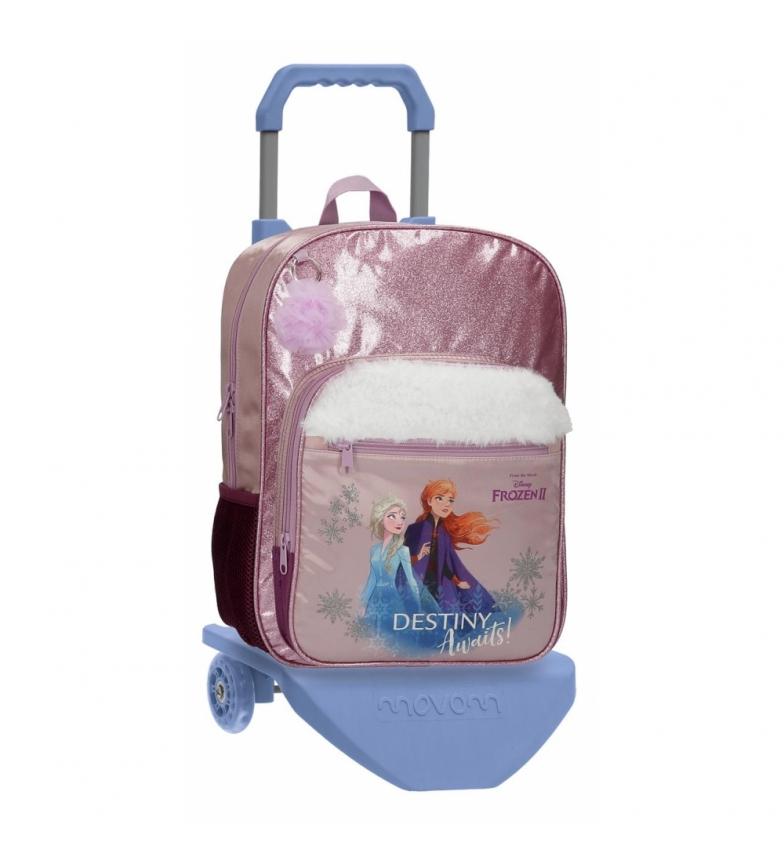 Comprar Frozen Mochila Frozen Destiny Awaits escolar con carro -30x38x12cm-