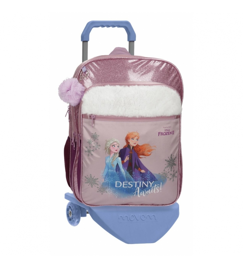 Comprar Frozen School Backpack Frozen Destiny Awaits with trolley -32x42x15cm