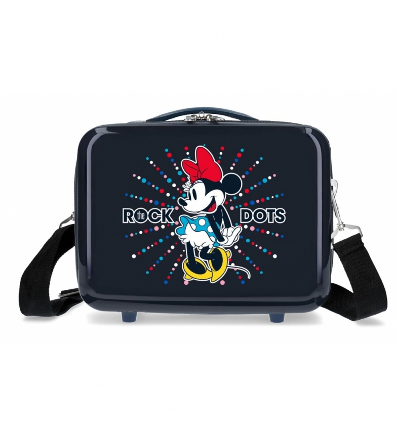 Comprar Minnie Neceser ABS Minnie Rock Dots Azul -29x21x15cm-