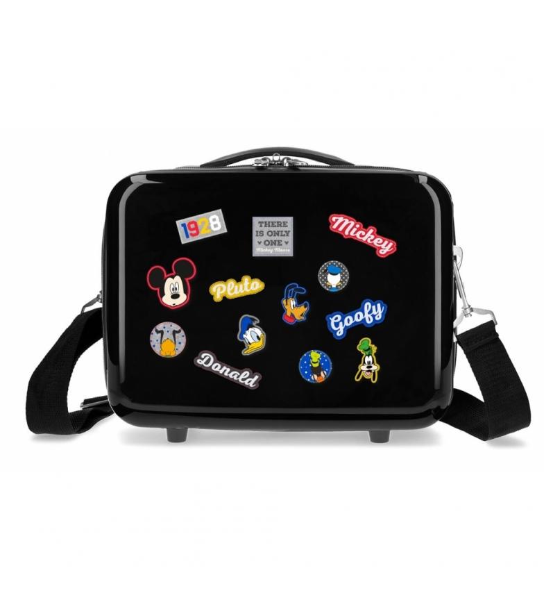 Comprar Mickey ABS Mickey Adaptable Toilet Bag Personagens em preto -29x21x15cm