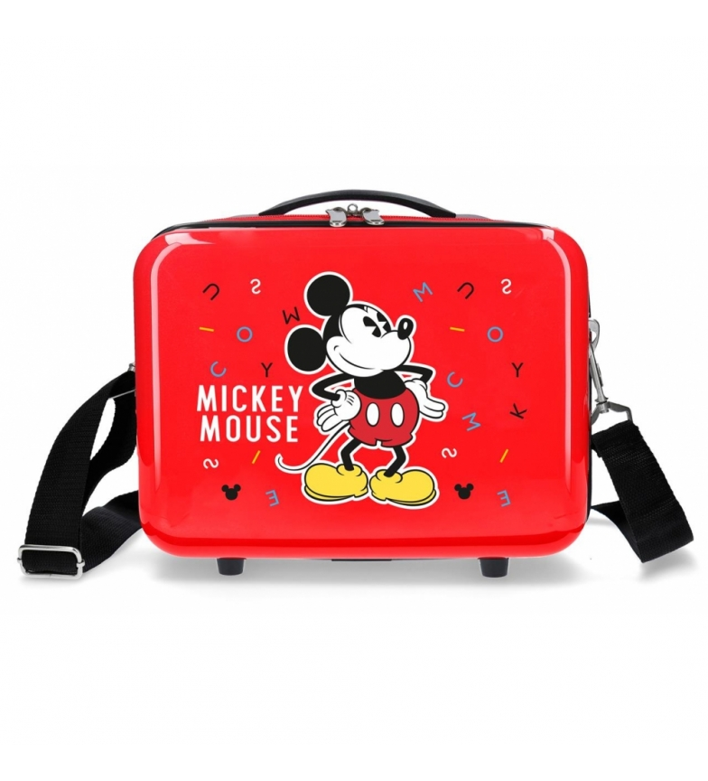 Comprar Mickey Trousse de toilette ABS Mickey Adaptable Lettres rouges -29x21x15cm