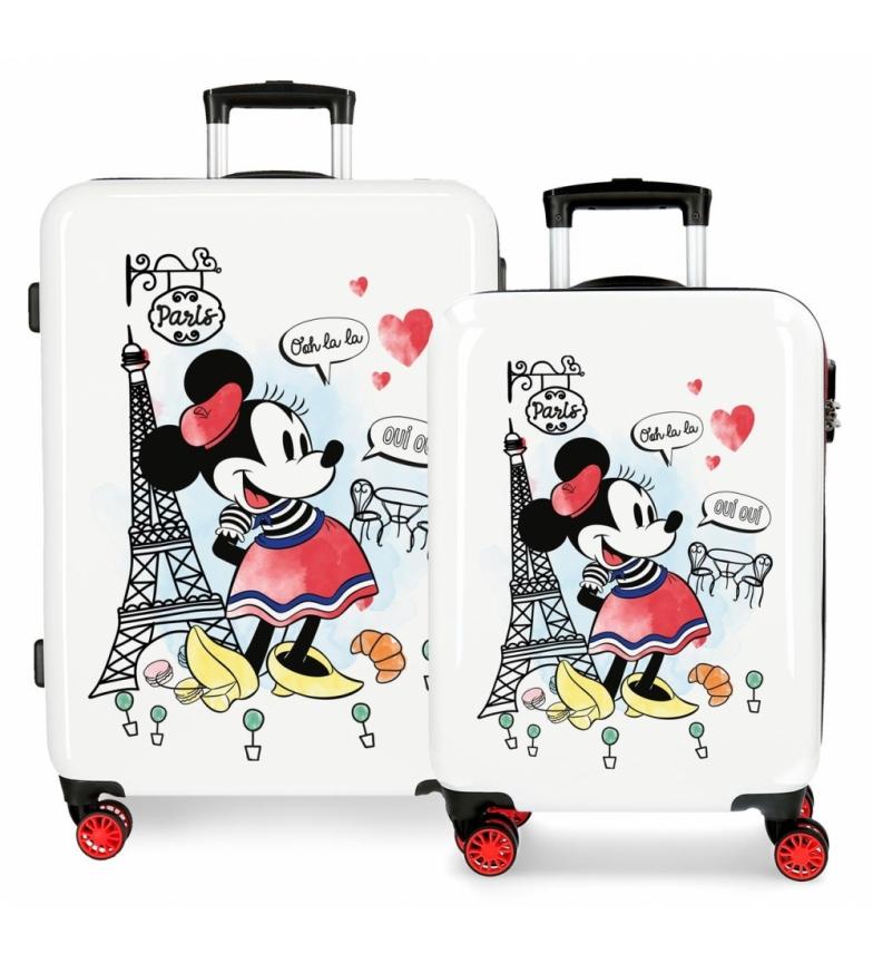 Comprar Minnie Set of suitcases Minnie Around the World Paris rigid -38x55x20 cm