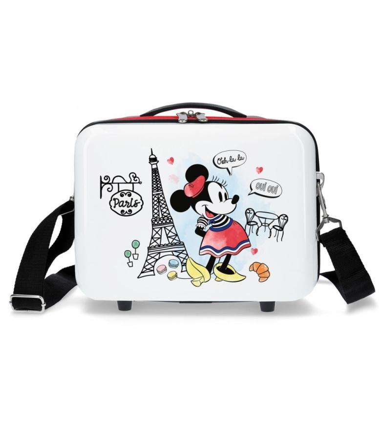Comprar Minnie Neceser ABS Minnie Paris Adaptable Rojo -29x21x15 cm-