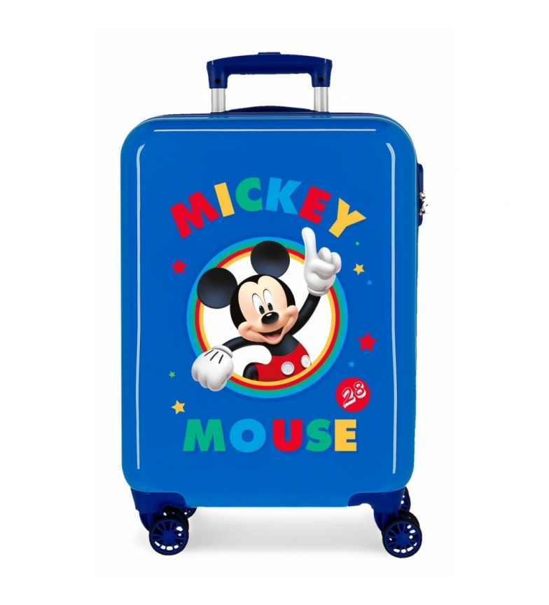 Comprar Mickey Mala de Cabine Rígida Azul Mickey -38x55x55x20 cm