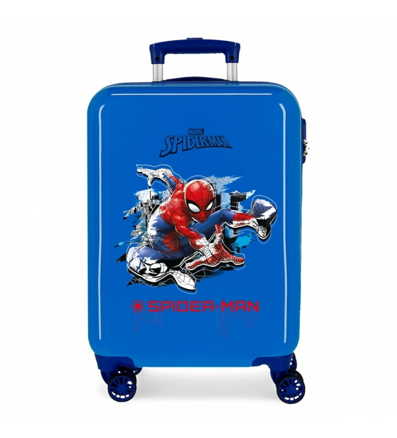 Comprar Spiderman Valigia baita rigida Spiderman Geo Blue --38x55x20 cm-