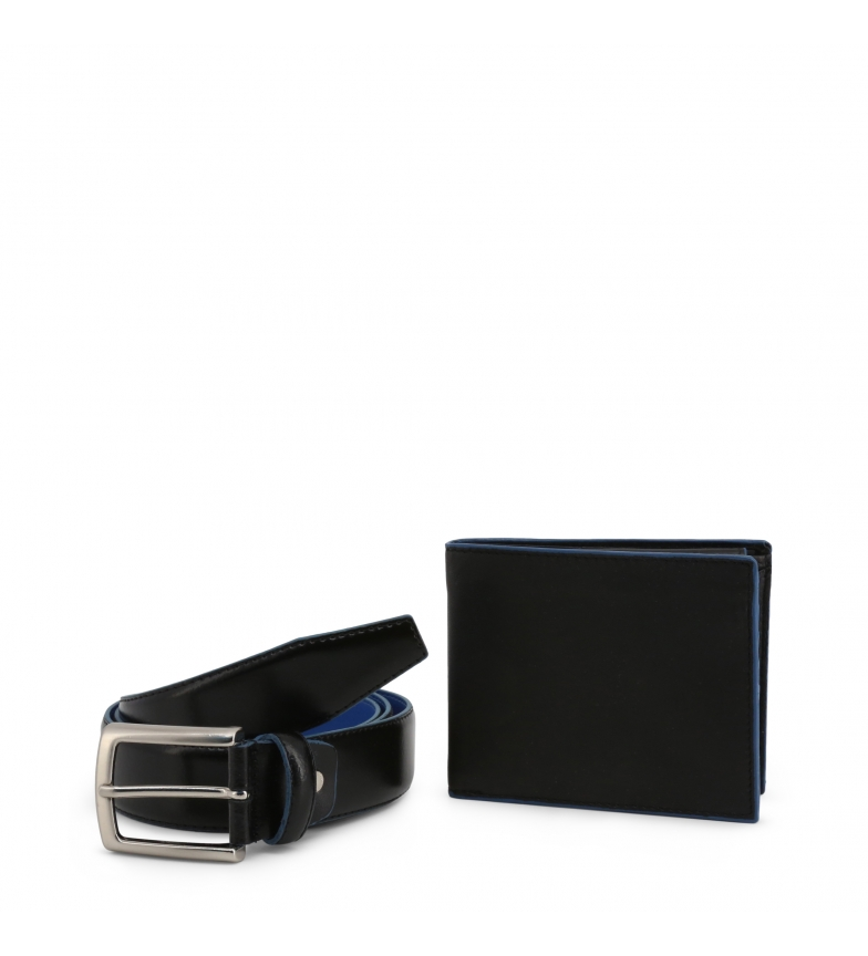 Comprar Made In Italia Briefcase + LUCIO leather belt black, blue