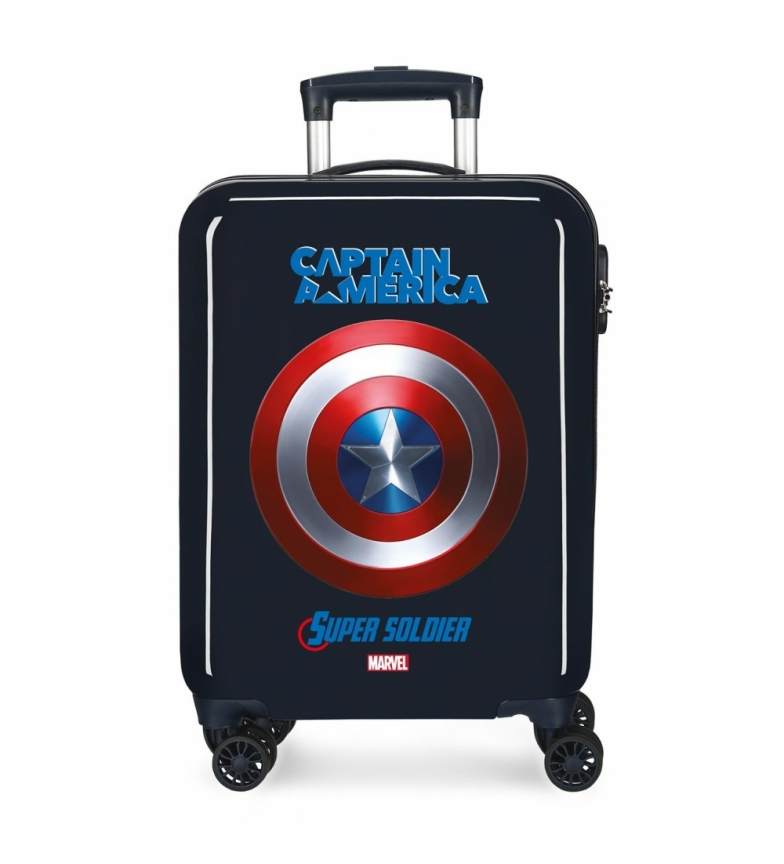 Comprar Marvel Maleta de Cabina Capitan América rígida 55cm -38x55x20 cm-