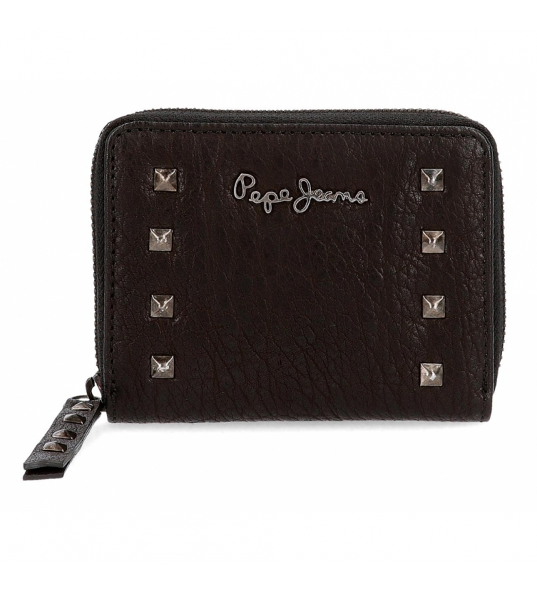 Comprar Pepe Jeans Pepe Jeans Alessia wallet with black zipper -11.5x9x2cm
