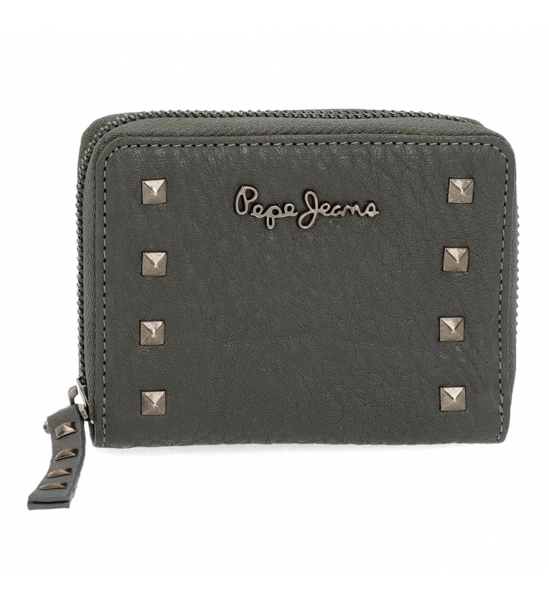 Comprar Pepe Jeans Pepe Jeans Alessia wallet with grey zipper -11.5x9x2cm