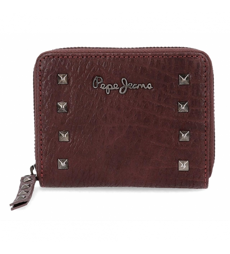 Comprar Pepe Jeans Pepe Jeans Alessia wallet with burgundy zipper -11.5x9x2cm